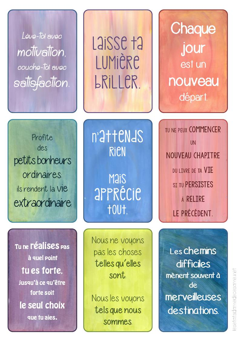 Mes stickers inspiration et motivation c same et ses for Miroir psychologie