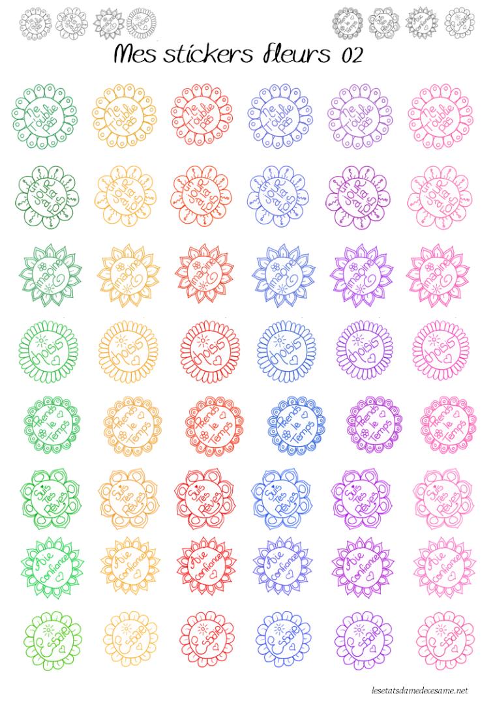 étiquettes fleurs 2