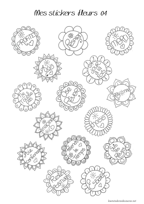 étiquettes fleurs 4